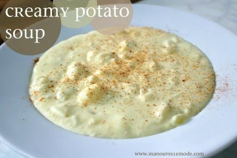 panera bread creamy potato soup