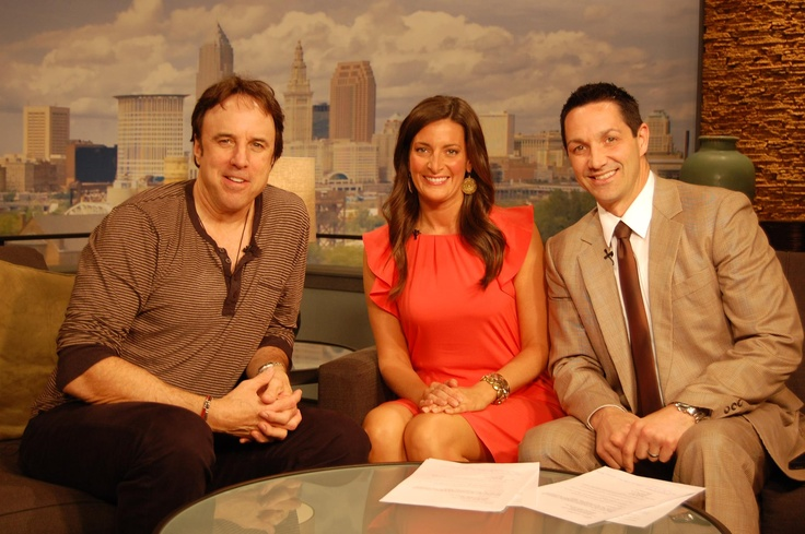 """3/23/12 - Former #SNL funny man #KevinNealon stopped by """"Good Company"""" today to chat with Andrea and Michael."""