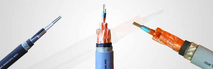 Shipboard cables are fire resistant, flame retardant, low smoke & halogen‐free cables. Typically used for electrical installations in ships and offshore platforms for electric power distribution to eletric panels, for lighting, in control circuits, to carry critical instrumentation signals, etc. Voltage range includes 0.6/1.0 kV for power & control cables and 150/250 V for instrumentation cables. These cables are manufactured to IEC 60092‐350 series standards.