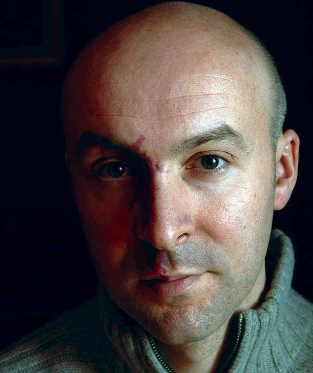 Chris (topher) Brookmyre - don't be fooled by the serious look, no one does humour and sarcasm like him!