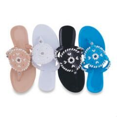 mySTYLE Women's Jelly Fashion Sandals
