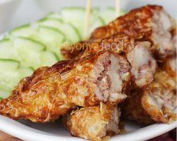 Loh Bak Recipe (Five-Spice Pork Roll/卤肉)   Easy Asian Recipes at RasaMalaysia.com - Page 2