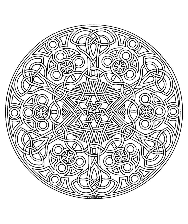 free coloring page coloring free mandala difficult adult to