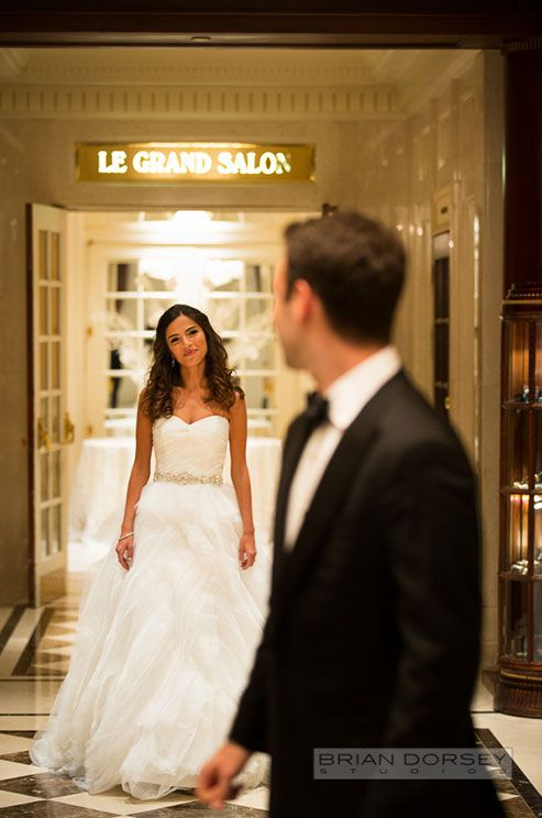 Your wedding day will absolutely fly by, so make sure you take in every detail and make an effort to be fully present!