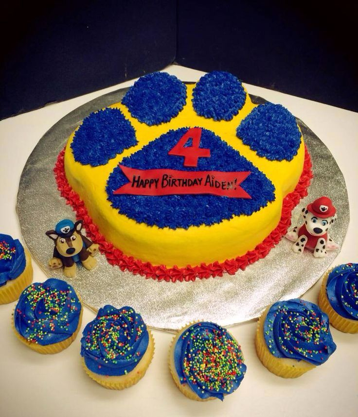 Paw Patrol Images For Cake : 17 Best ideas about Paw Patrol Cake on Pinterest Paw ...