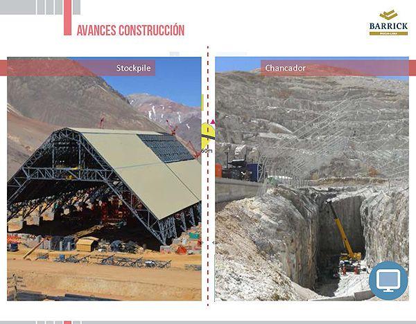 Avances en la construcción de Pascua-Lama (imágenes) - Infografía completa en el sitio de Pascua-Lama http://pascua-lama.com