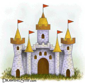 Google Image Result For Httpwwwdrawingstepcomimage filescartoon castlegif COPYCAT A