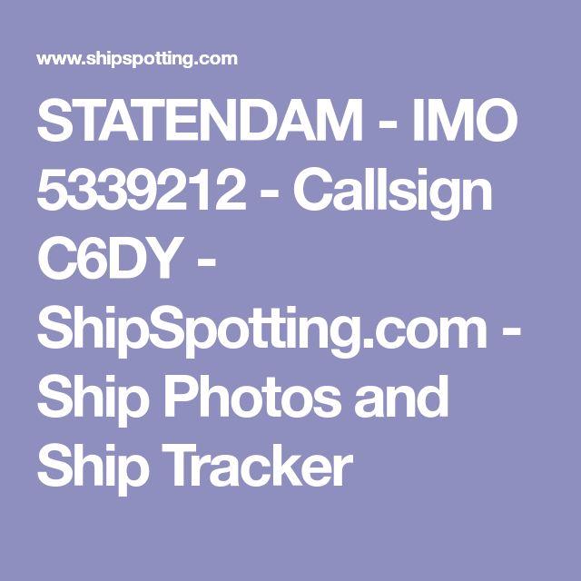 STATENDAM - IMO 5339212 - Callsign C6DY - ShipSpotting.com - Ship Photos and Ship Tracker