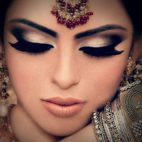 Beautiful & chic Bridal Makeup 2015 for Girls (1)