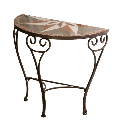 best 25 half moon table ideas on pinterest moon table small hall table and half moon console. Black Bedroom Furniture Sets. Home Design Ideas