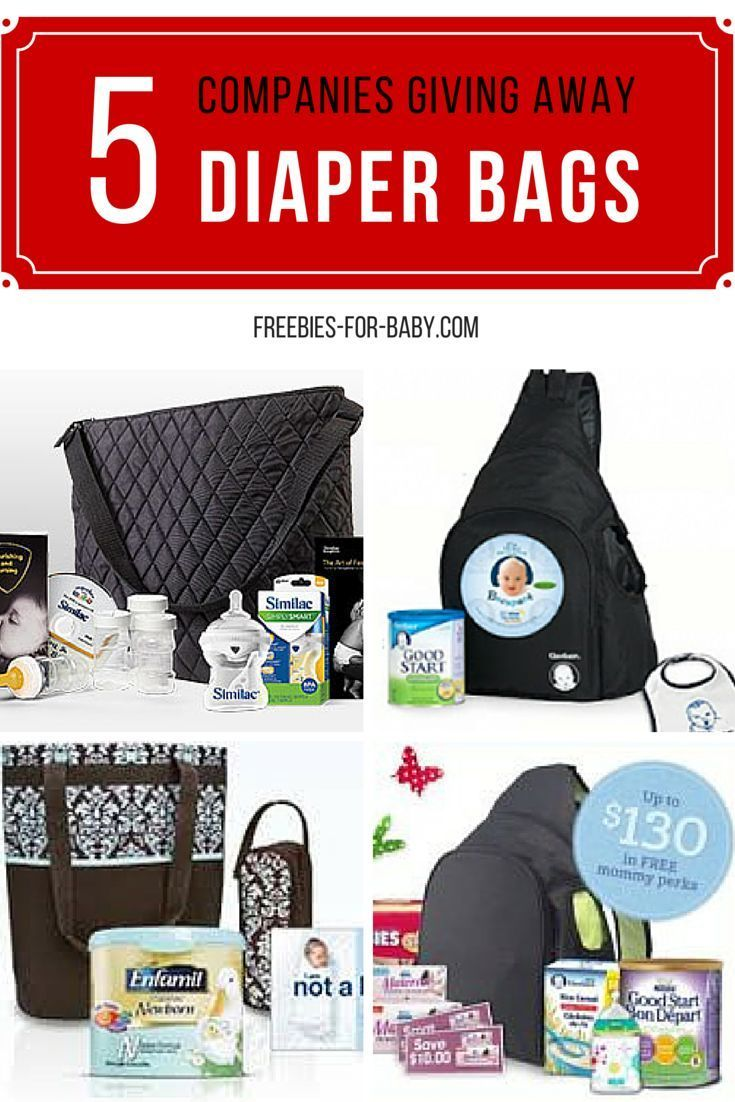 Get a FREE Diaper bag filled with full-size baby products including diapers, formula, bottles, plus lots of samples and coupons.  5 bags to choose from.  Go Here => http://freebies-for-baby.com/3890/5-free-diaper-bags-filled-with-free-baby-stuff/ #FreeDiaperBag #FreeBabyStuff #DiaperBags