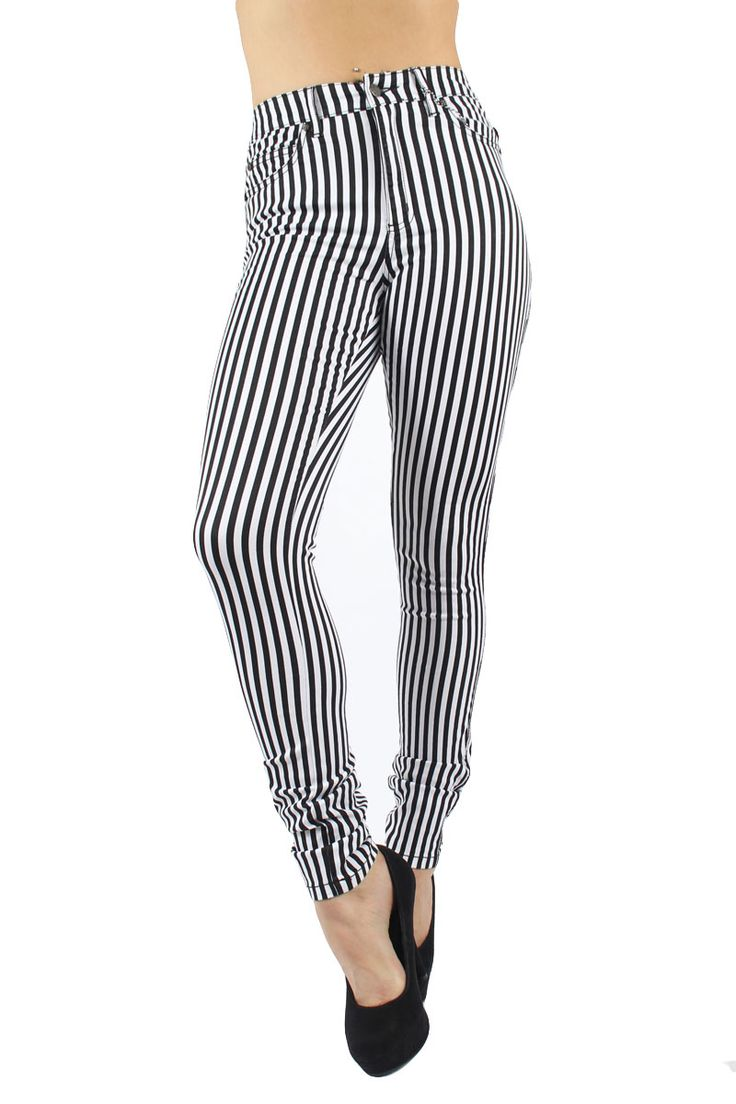 21 best Black and White Striped Jeans images on Pinterest ...