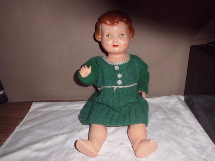 Stará celuloidová panenka značena!!