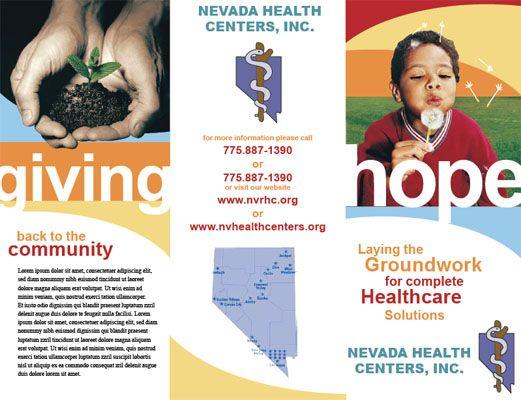 non profit organization brochure examples