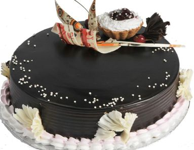Online order Delicious Chocolate cake with Egg and without Egg. for you and take Free home delivery of Chocolate cake, black forest cake, milk cake, dry fruit cake, cup cake box & RAS signature fresh fruit cake and many more at RAS.