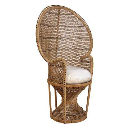 Hospitality Rattan Peacock Chair Buri - Natural