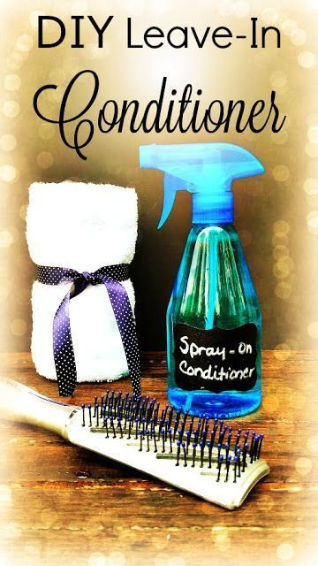 Homemade Leave-In Conditioner for Beautiful Hair! {DIY}                                                                                                                                                      More