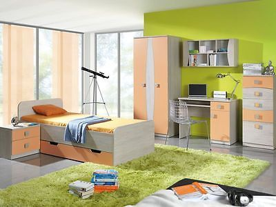 #Children kids bedroom furniture #collection tenus blue, #green, heather, orange,  View more on the LINK: 	http://www.zeppy.io/product/gb/2/271801502980/