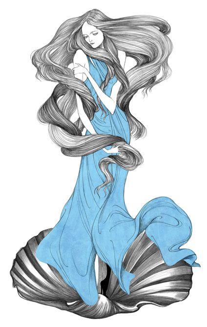 fashion illustration by Laura Laine