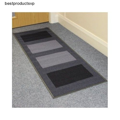 #Ebay #Door #Mat #Runner #Entrance #Hallway #Grey #Dirt #Stopper #Anti-Slip #Machine #Washable