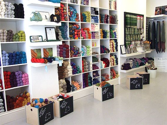 Of Cabbages & Kings / Knit with attitude  Our new shop! -Knit with attitude's part. London Shop