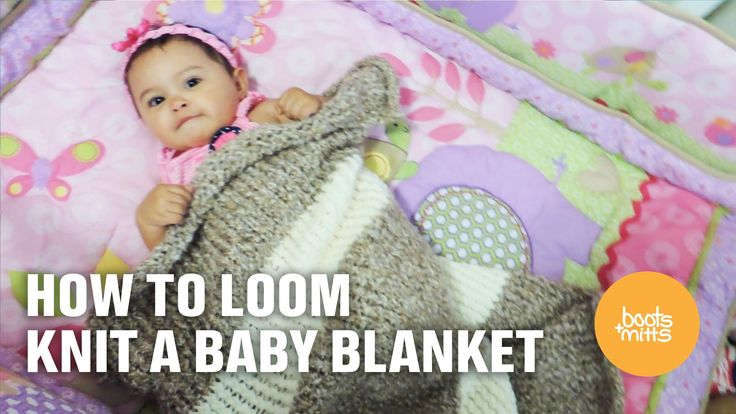 Easy Easy Easy! Follow this tutorial to knit your very own Baby Blanket!! Make it wider and longer and make yourself a couch throw! Sofia loved her baby blan...