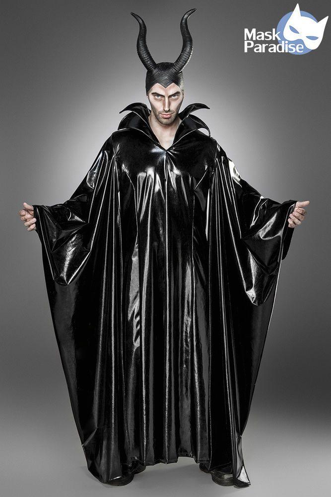 Maleficent Lord Kostüm Gothic Fasching Karneval Verkleidung Halloween Men NEU