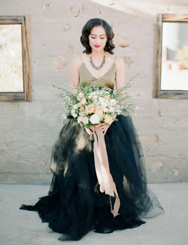 13 best Color Wedding Dresses images on Pinterest   Colored wedding ...