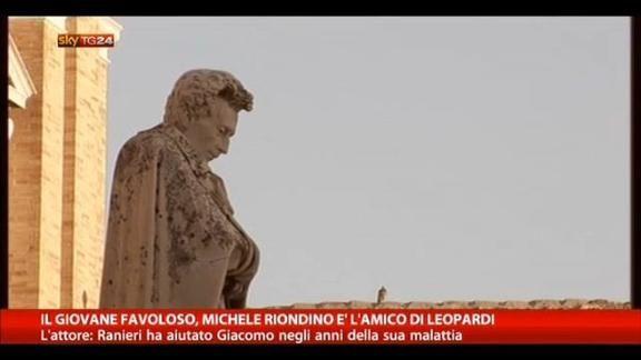 Recanati, Mario Martone gira il film su Giacomo Leopardi, in uscita a settembre 2014.