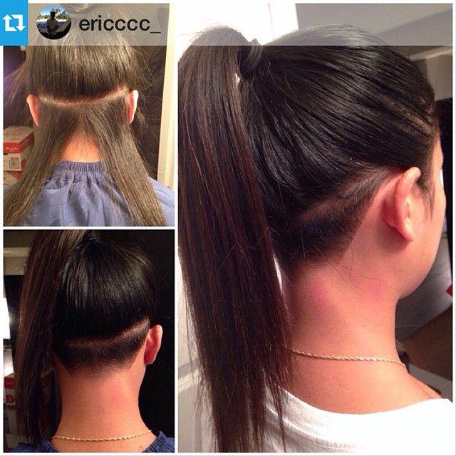 #undercut #undershave #napeshave #hairstyle #hairinspiation #ponytail #longhair #shornnape #shavedhairdontcare #shorthairdontcare #regram #repost  #Repost from @ericccc_ with @repostapp --- SUNDAY FUNDAË #tape #babytape #undercut #barber #barberlife #barbergang #barbershopconnect #winnipeg #manitoba #204