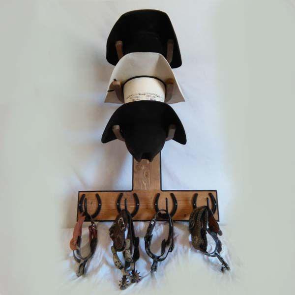 Needing a new cowboy hat rack cowboy hat racks - Perchero para sombreros ...