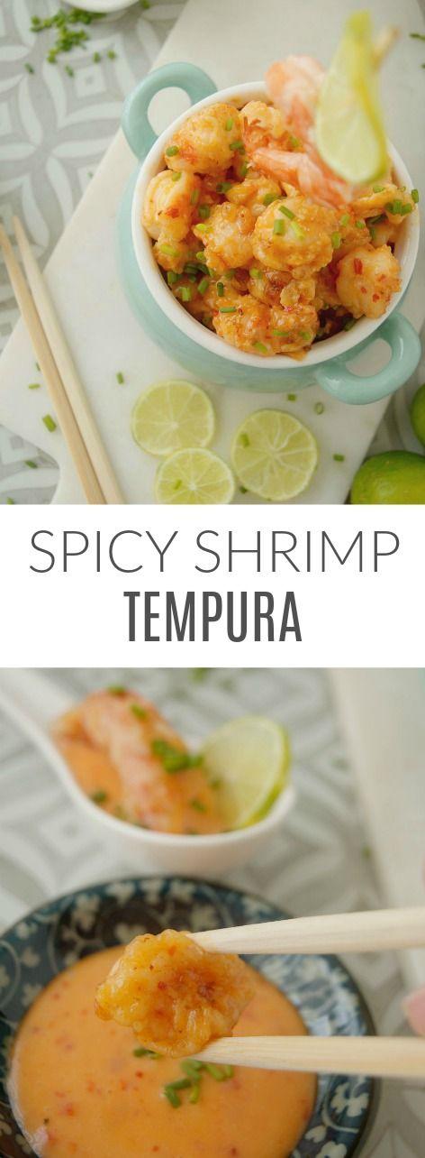 Nobu's Spicy Shrimp Tempura - easy and delicious in Patty's Cake Una forma diferente de tomar langostinos. Te encantará.