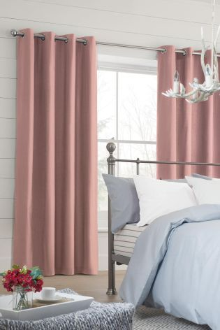 A beautiful neutral colour for curtains in any room!