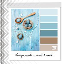Design Seeds®   for all who ❤ color   sky tones