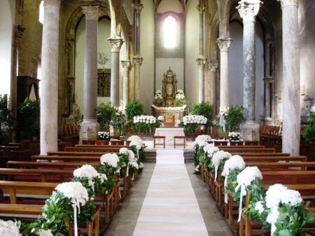 addobbi floreali matrimonio in chiesa la pietà di palermo - Cerca con Google