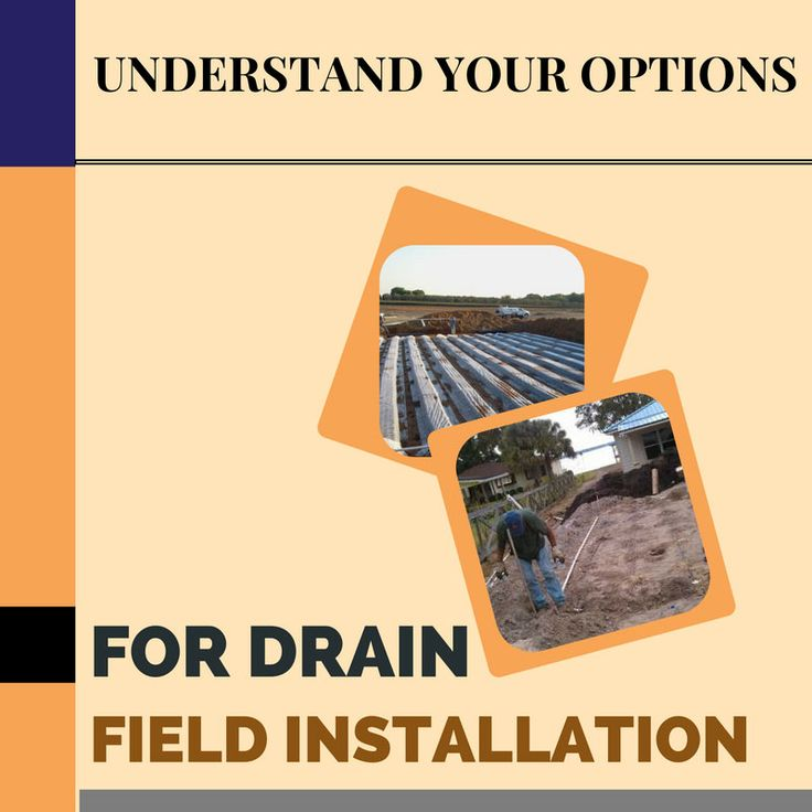 Understand Your Options for Drain Field Installation