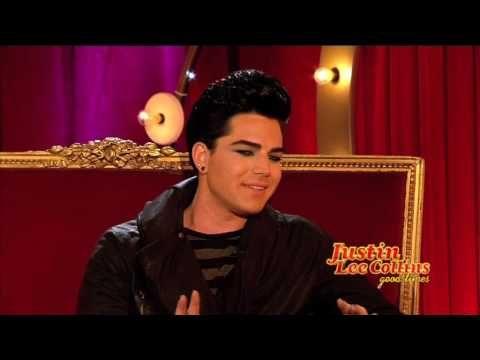 Adam Lambert on Justin Lee Collins Uncut Pt 2