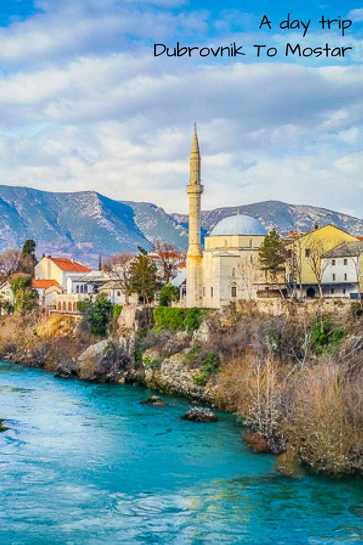 We went on an amazing day trip from Dubrovnik to Mostar to see the world's most famous bridge and explore a unique city. #mostarbridge . . | Dubrovnik day trips |  Mostar old town | Stari Mostar Bridge | Dubrovnik to Mostar trip | things to do in Mostar | visiting mostar |