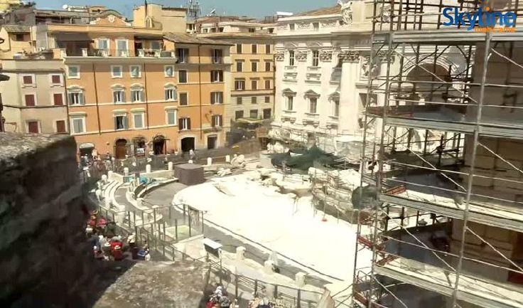 Live Cam Trevi Fountain - Rome