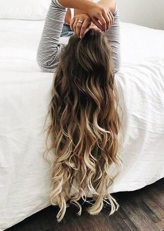 kind of perfect hair.. I need to cut mine to ever be able to have this long and healthy hair ever again..