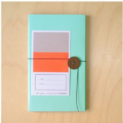 mint + neon melon + grey // by Mochi Things