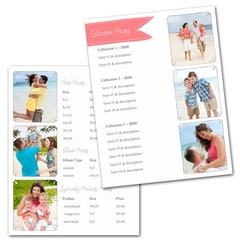 Clean Price Sheet Templates