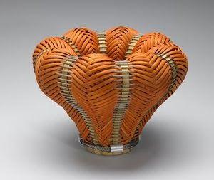 Contemporary Basketry: Brenden Basket, No. 232, Carole Hetzel