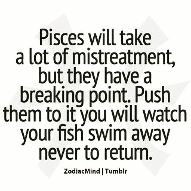 Read Awesome Facts About Pisces - Fact Two - Pisces Breaking Point ...