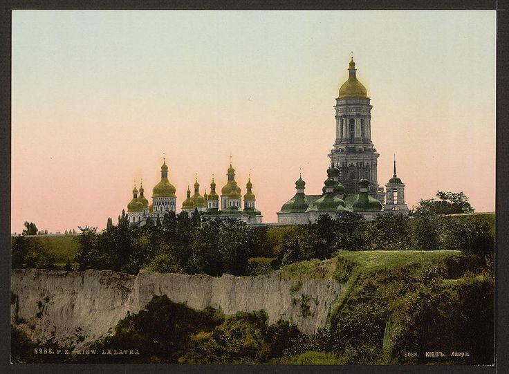 Фотографии старого Киева. Фото конца 19 – начала 20 века. Фото хранятся на сайте Библиотеки Конгресса США. Часть фотографий раскрашена.