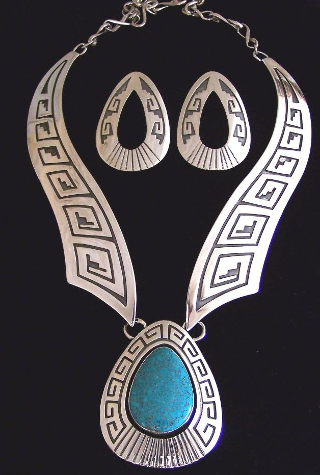Native american jewelry hopi style overlay design with a for Native american tile designs