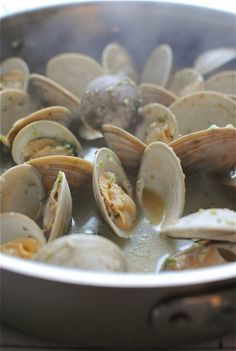 Beer-steamed clams were my birthday dinner for many years. My dad's friend was a clam digger and we'd get 100 Little Necks to split between us. Nom nom nom