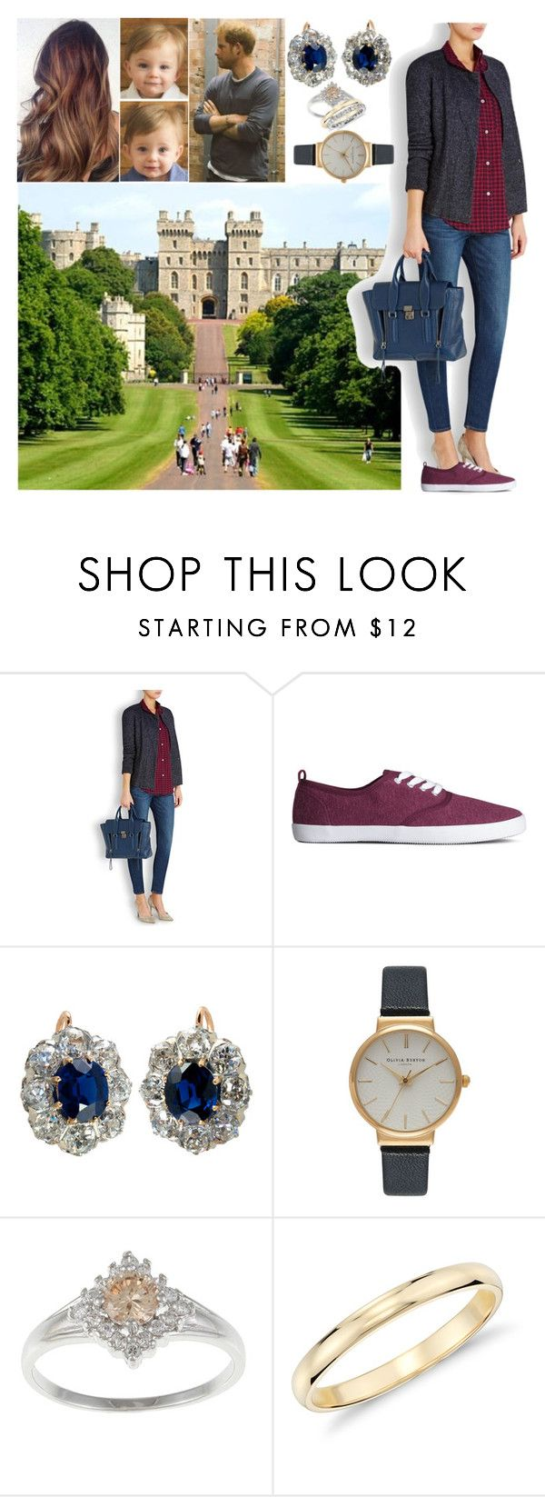 """""""Arriving at Windsor castle to spend the Easter holidays with Harrys family"""" by charlottedebora ❤ liked on Polyvore featuring Étoile Isabel Marant, H&M, Olivia Burton and Blue Nile"""