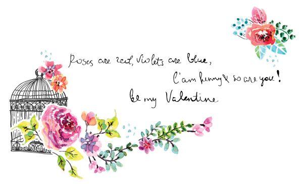 Акварель цветочные приглашения