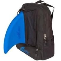 Black Backpack - perfect for carrying swimming gear including Fin